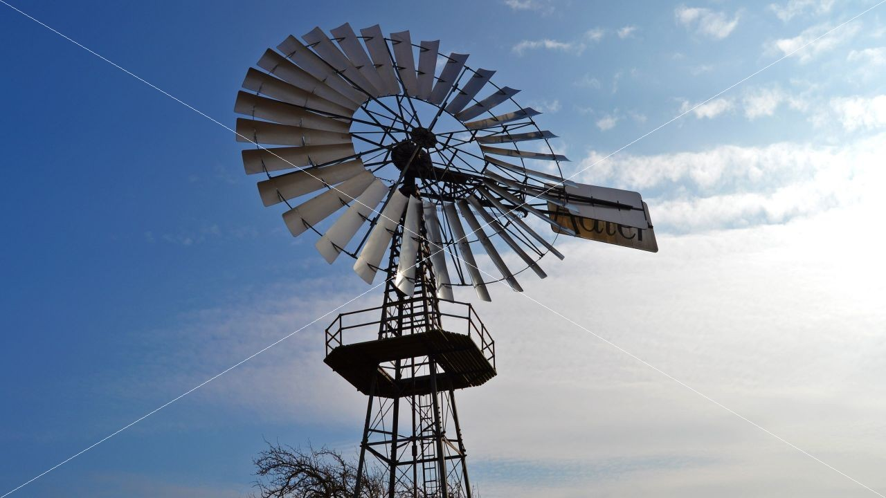 Technisches Denkmal Windschöpfwerk Adler