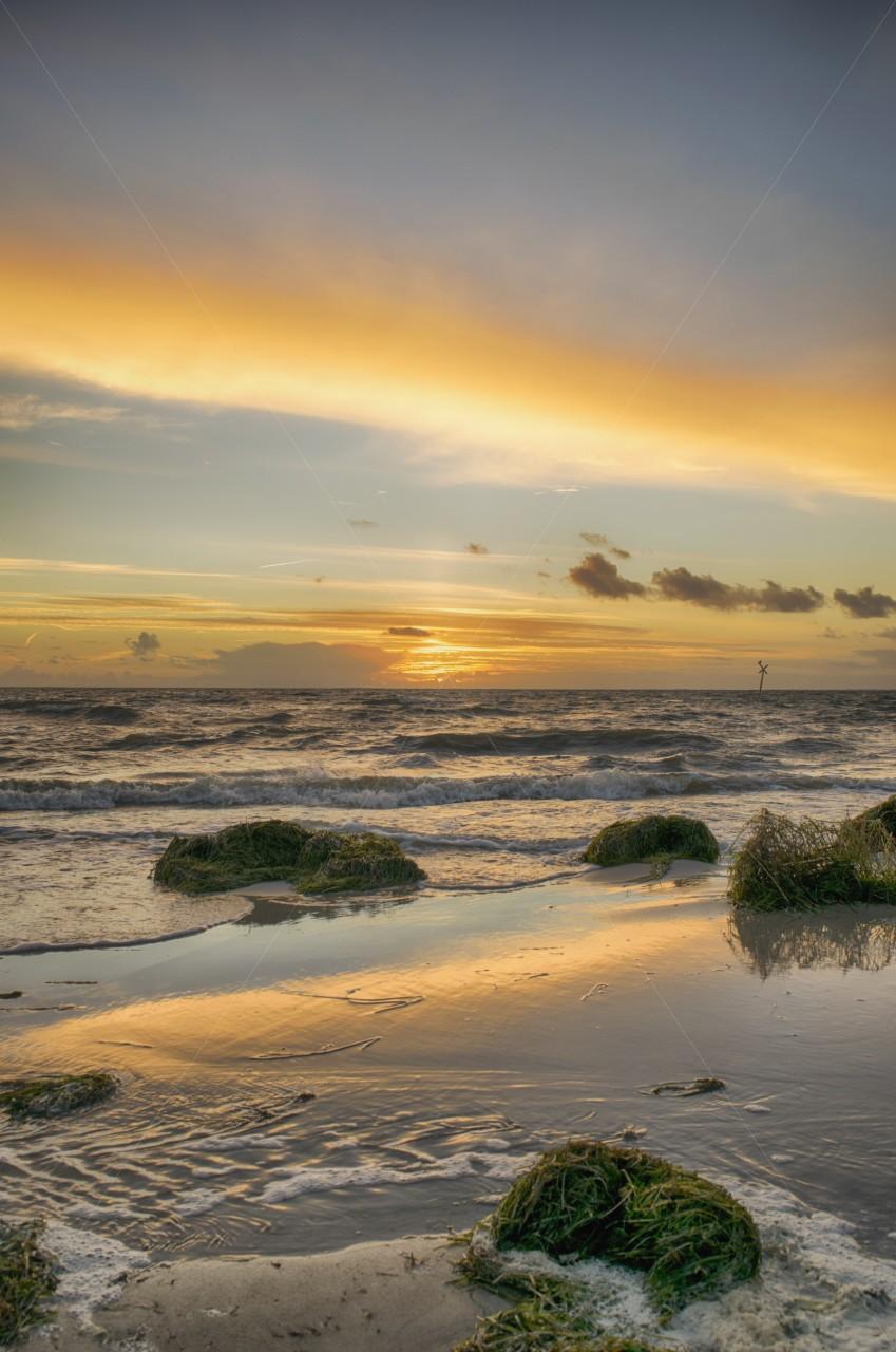 Strand Thiessow im Oktober