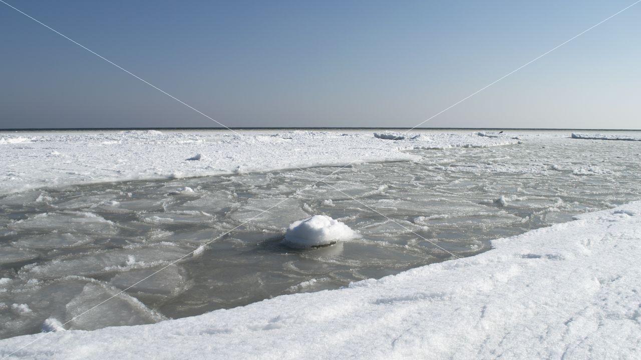 Winter bei der Ostsee