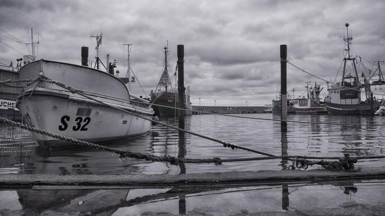 Im Sassnitzer Hafen