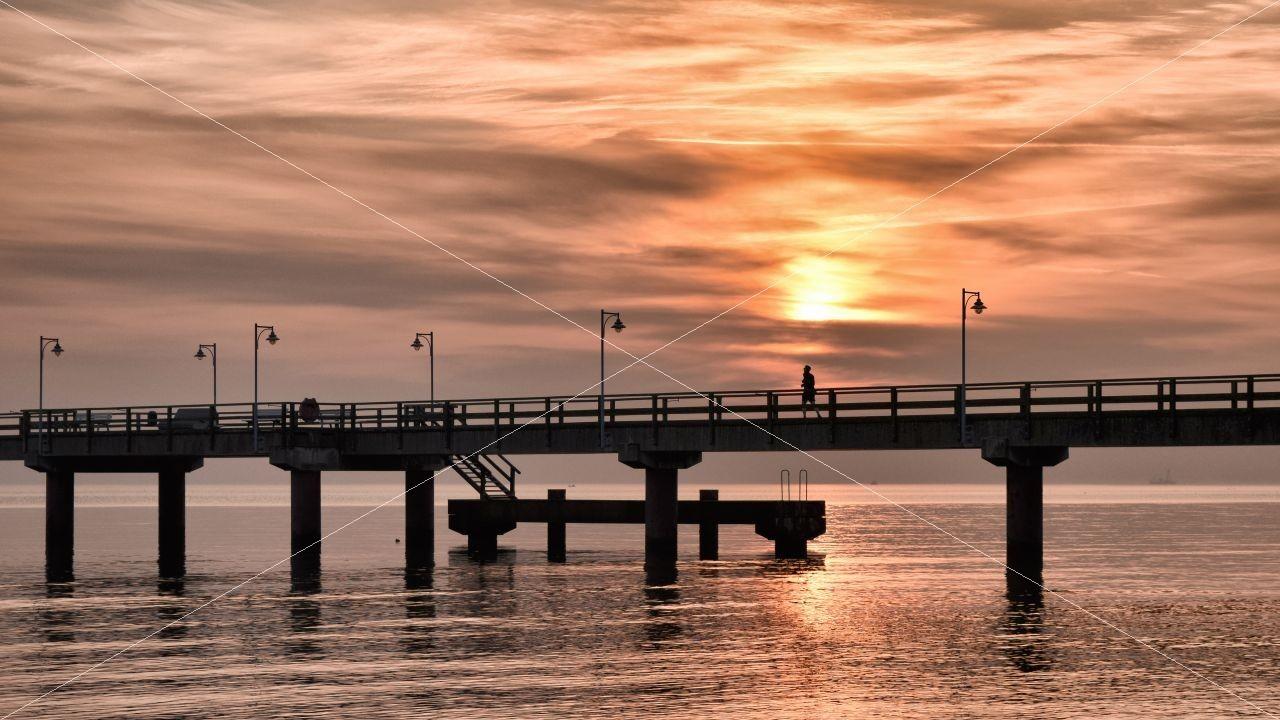 Seebrücke Ostseebad Göhren
