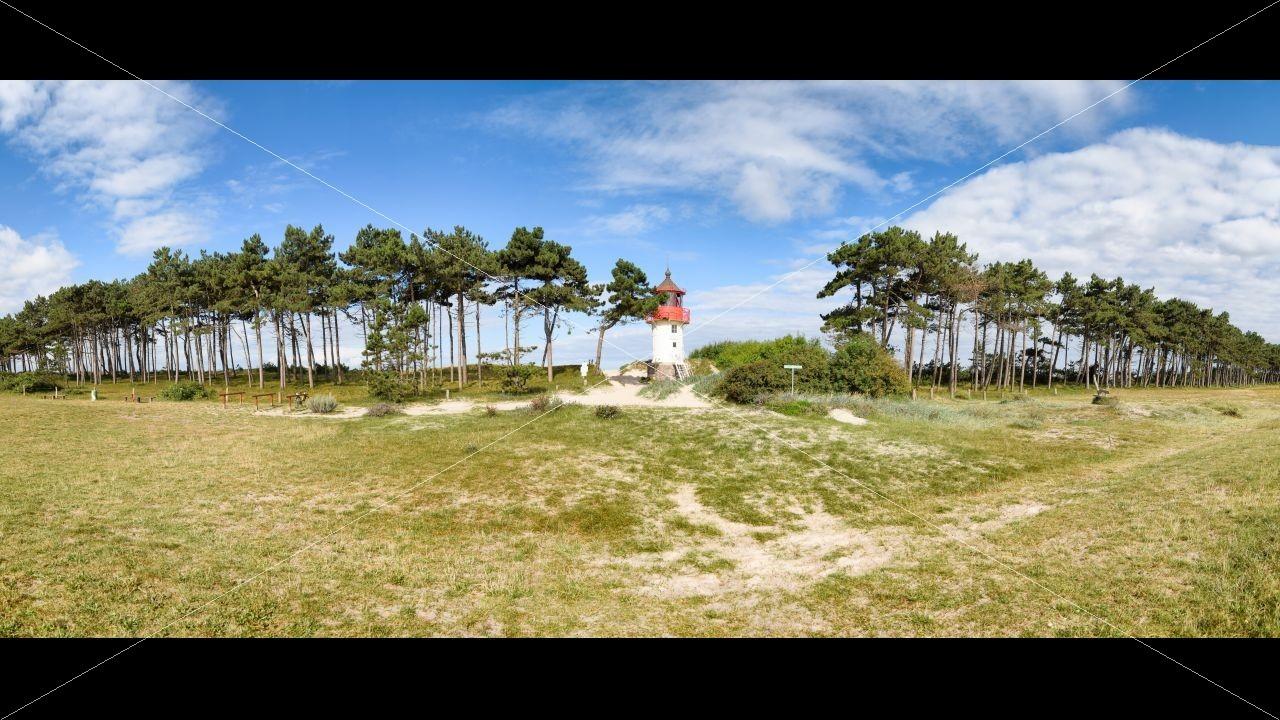 Leuchtturm Gellen Seebad Hiddensee