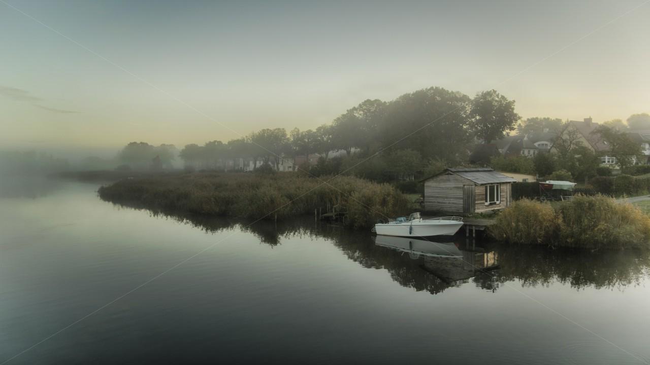 Nebel am Neuensiener See