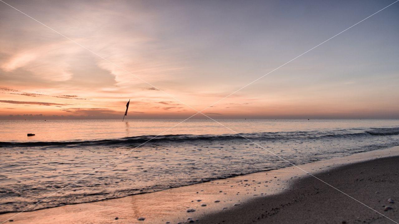 Sunrise Fischerstrand Baabe