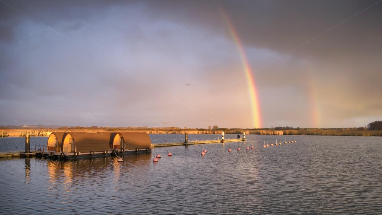 Regenbogen in Gager