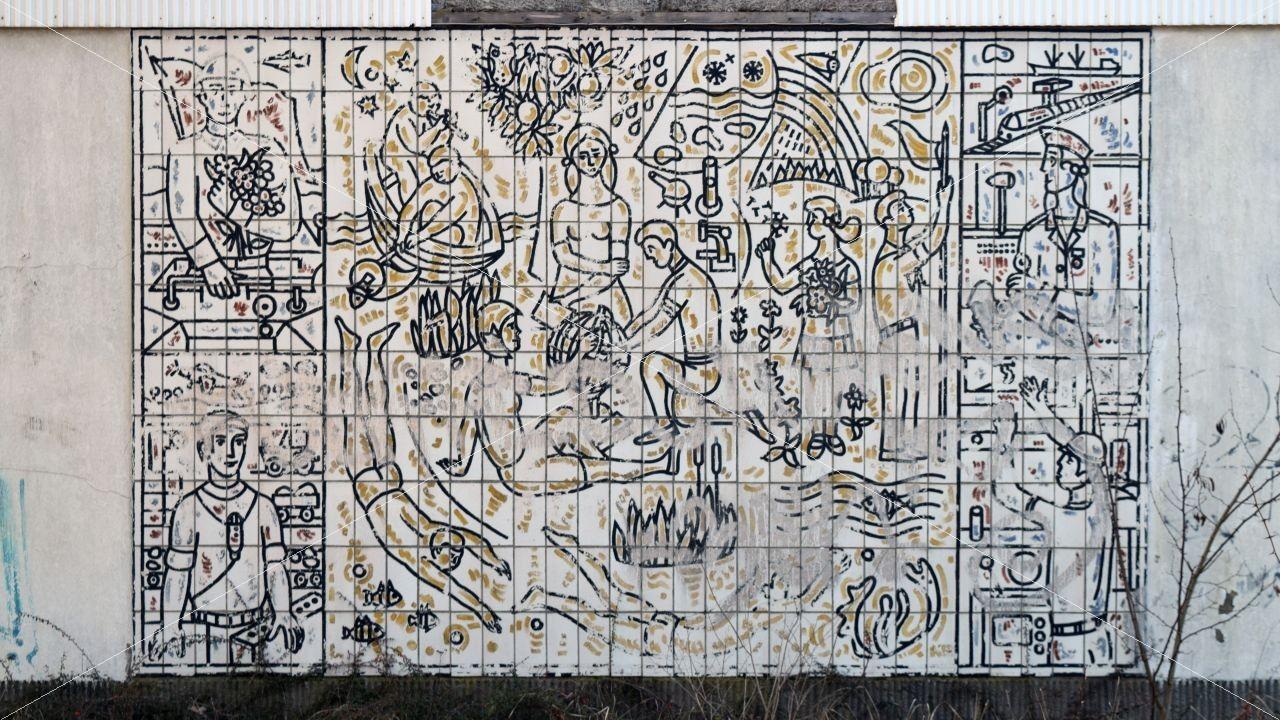 Wandbild Wehrbereitschaft der Jugend