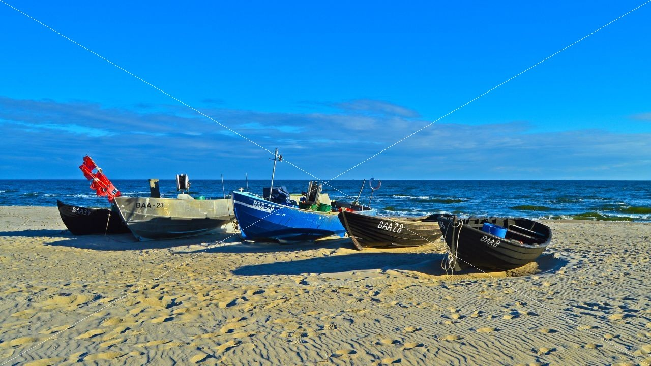 Strand im Ostseebad Baabe