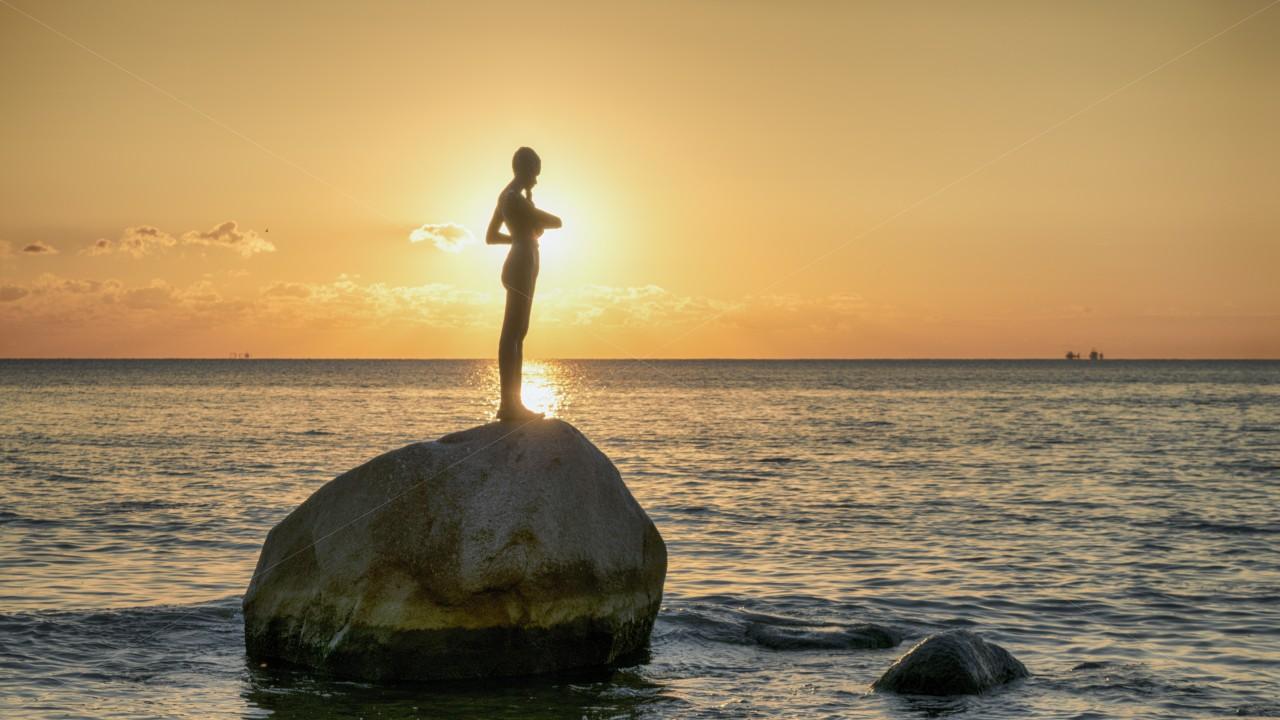 Kaysa wartet auf Sonne