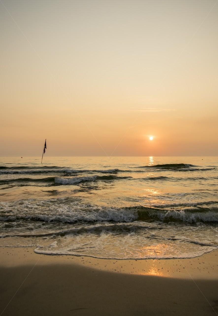 Strand im Ostseebad Thiessow