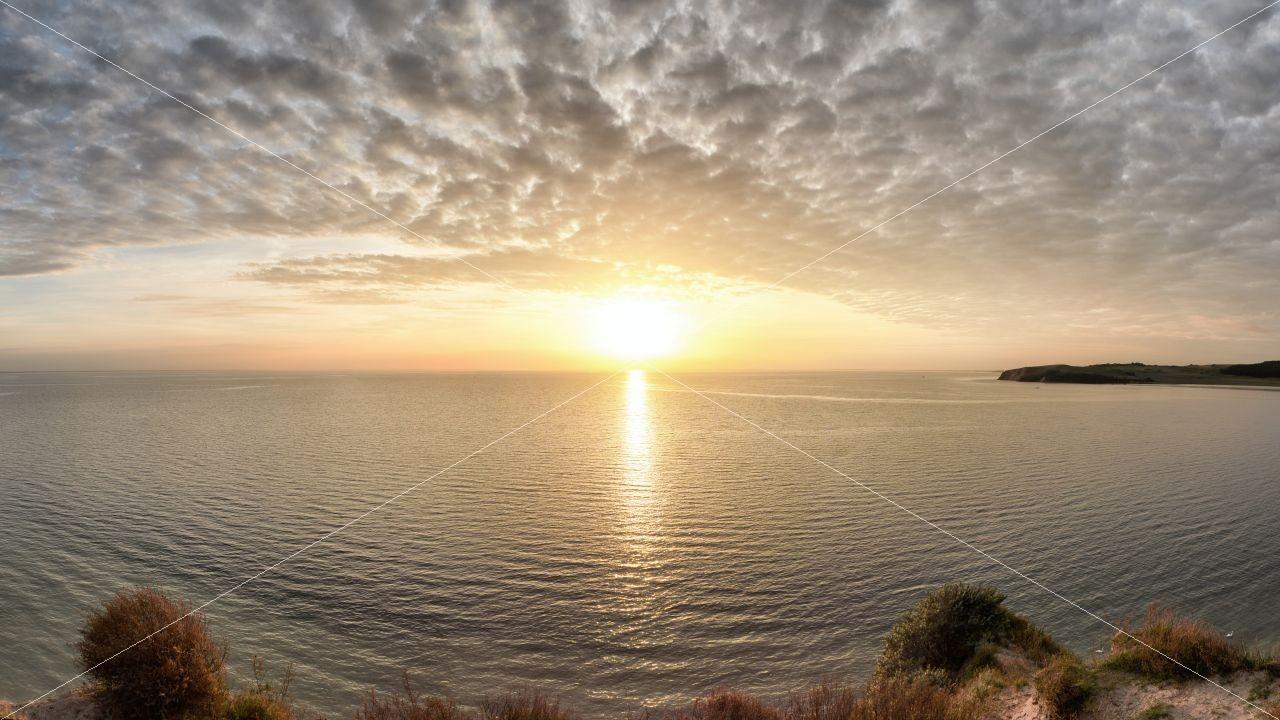 Sonnenuntergang Klein Zicker