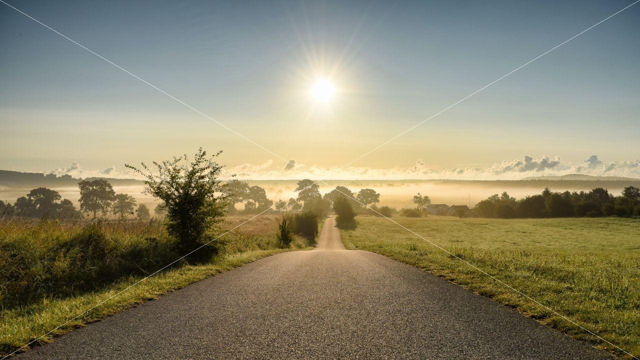 Auf dem Weg zur Sonne