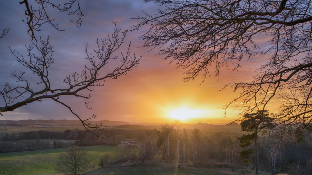 Sunset Mönchgut