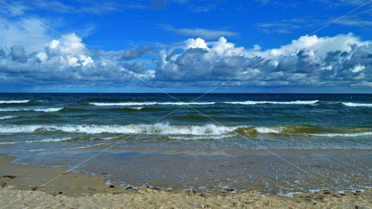 Strand am Ostseebad Baabe